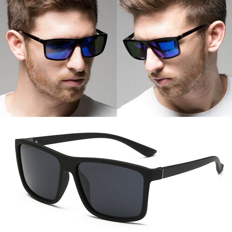 Sunglasses men Polarized Square UV protection