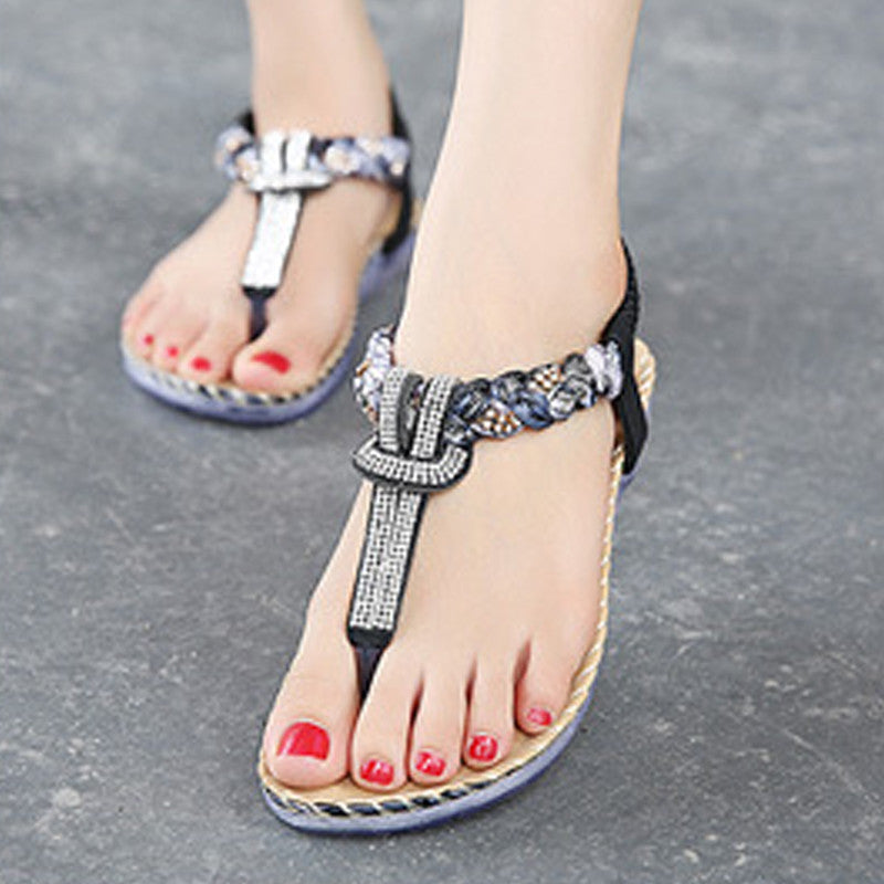 Fashion Cute Women Flats Sandals