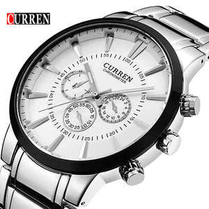 New Curren Quartz Business Watches Men