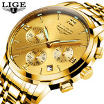 LIGE New Chic Mens Watches