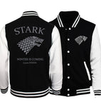 men women Bodybuilding Wolf hoodies winter in coming baseball jacket