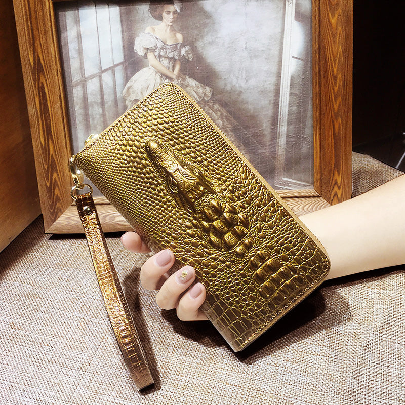 3D crocodile alligator Wallet