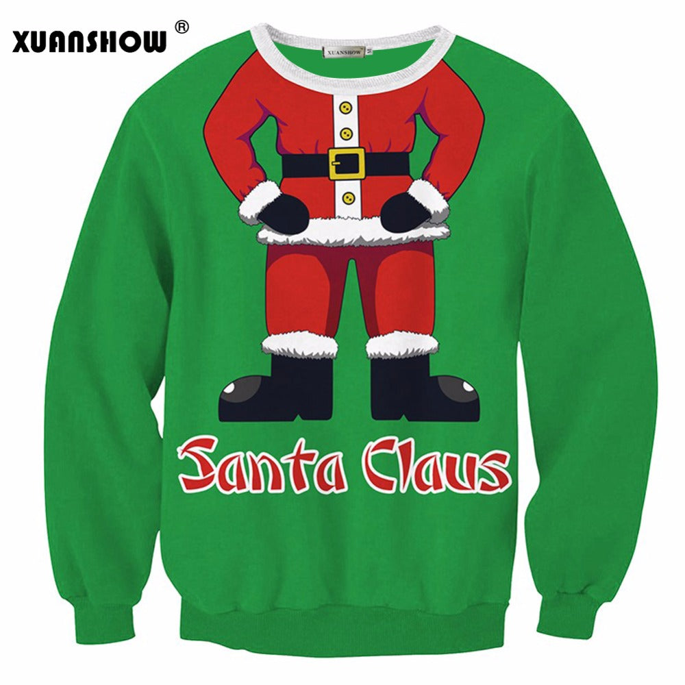 Santa Claus Clothing Loose Women