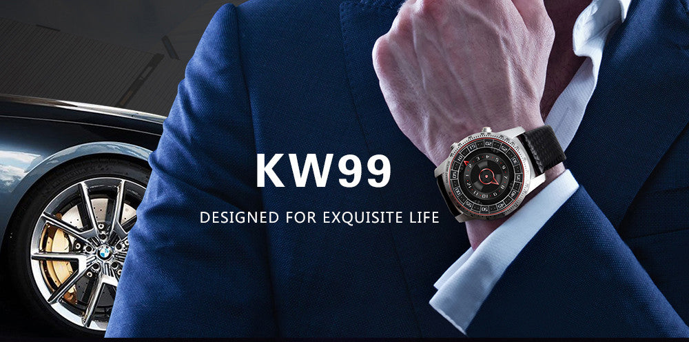 Kingwear KW99 3G Smartwatch