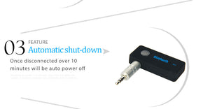Portable Bluetooth Adapter Receiver Kit Car/Home