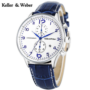 K&W Men Chronograph Business Watch