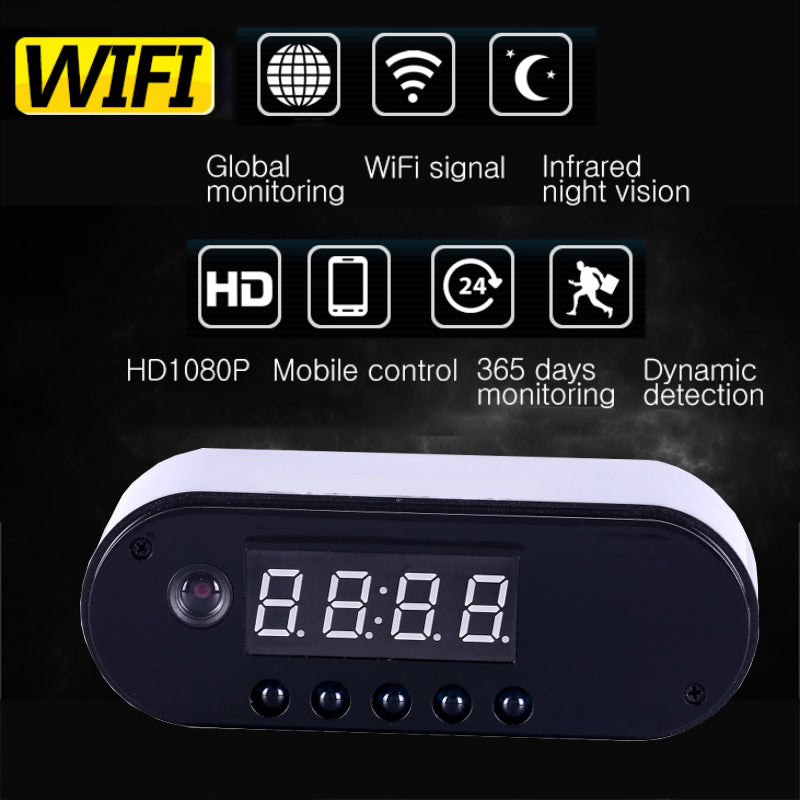 IP Cam Clock DVR