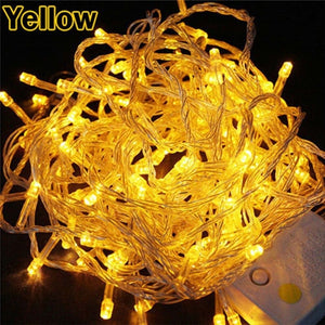 Led Christmas Tree Fairy Light Waterproof Holiday Decoration