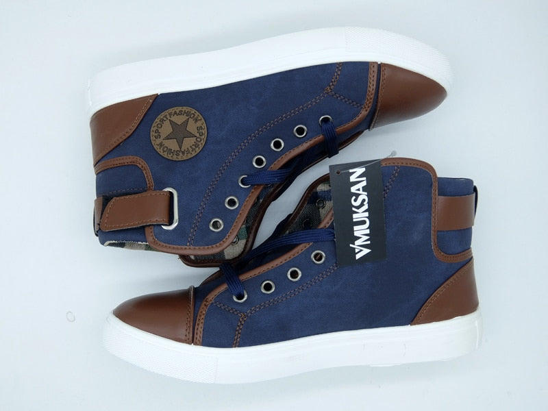 Patchwork Vulcanize Shoes
