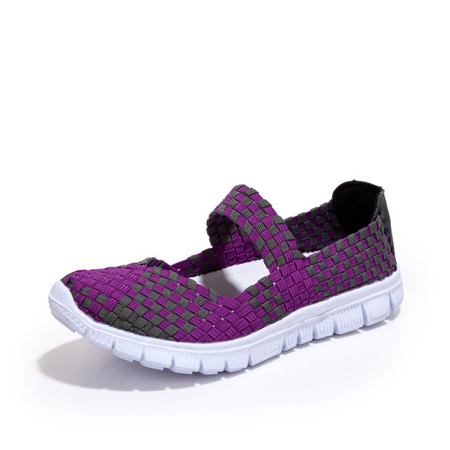 Breathable Mixed-colors Sport Shoes
