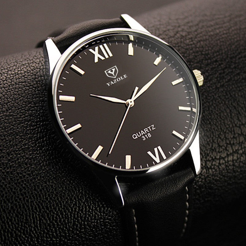 Yazole Brand Luxury Quartz Watch Men