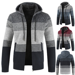 Color Block Patchwork Cardigan