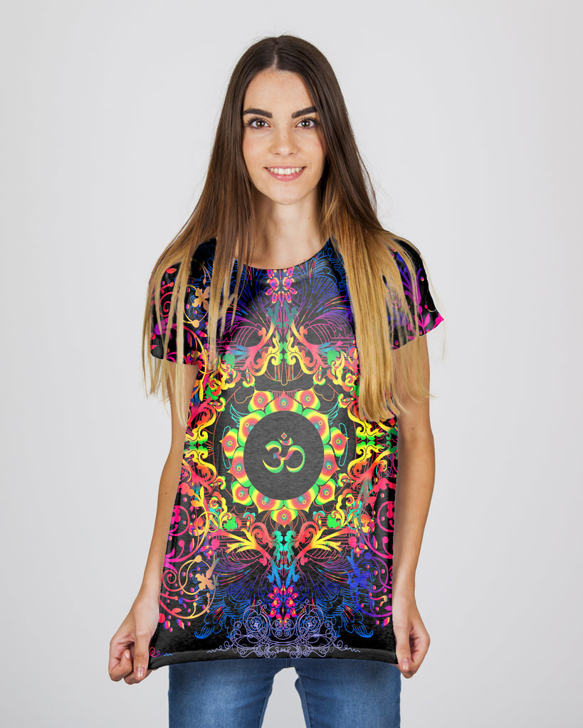 Mandala Mixed Om Women's T-Shirt