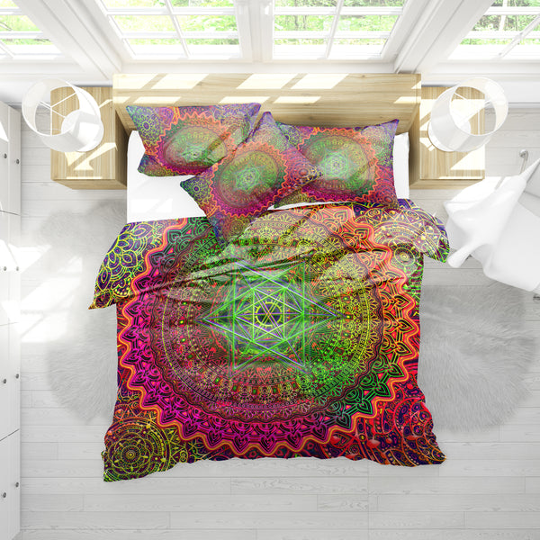 Merkava Mandala Bedding Set