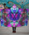 Acid Melt Hooded Blanket - ShantiBanti