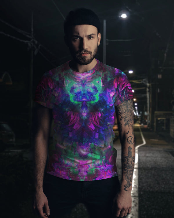Acid Melt Men's T-Shirt - ShantiBanti