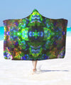 Acid Psy Hooded Blanket - ShantiBanti