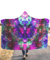 Acid Melt TX Hooded Blanket - ShantiBanti