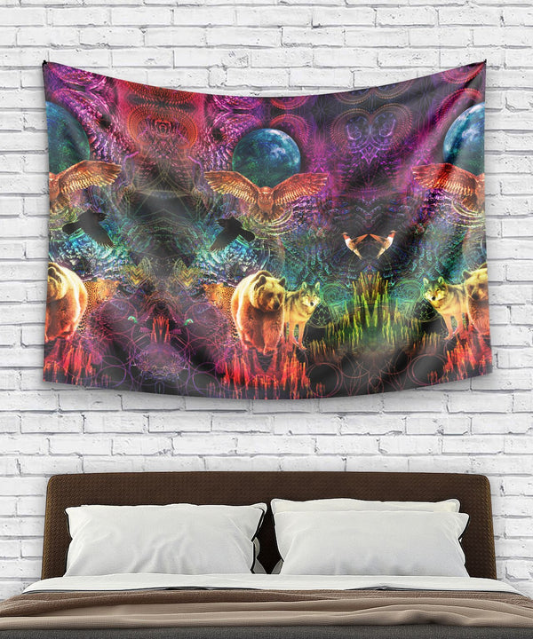 Animal Spirit Tapestry - ShantiBanti