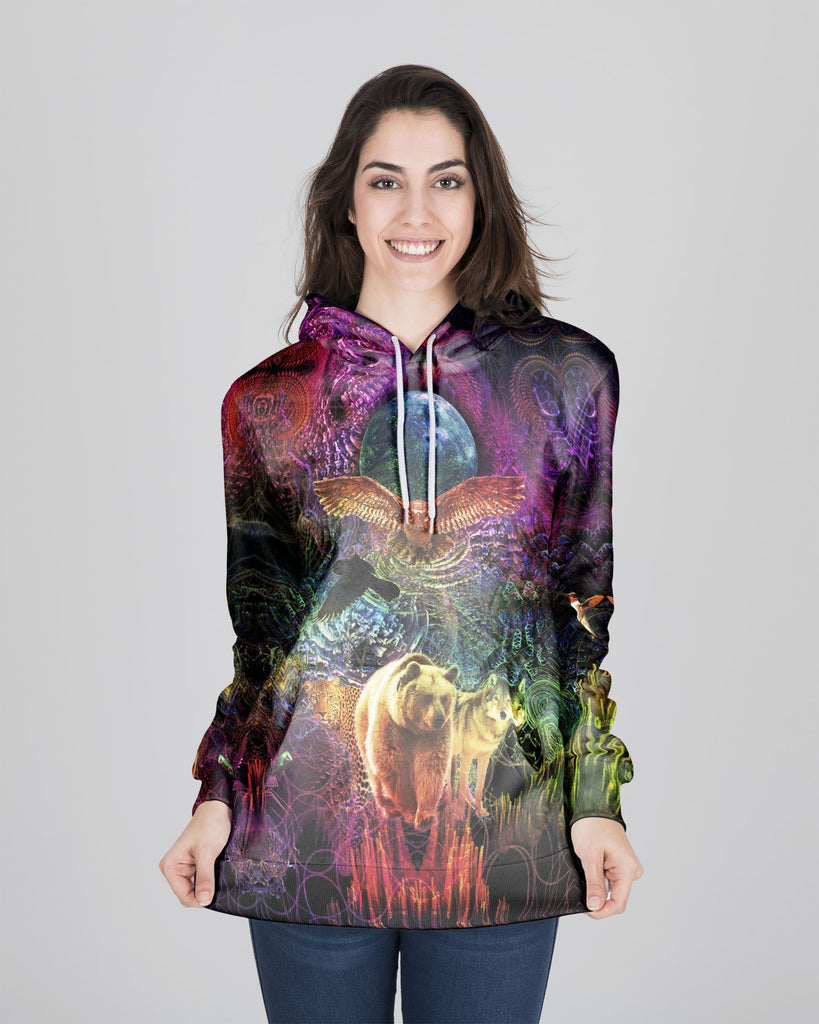 Animal Spirit Women's Hoodie - ShantiBanti