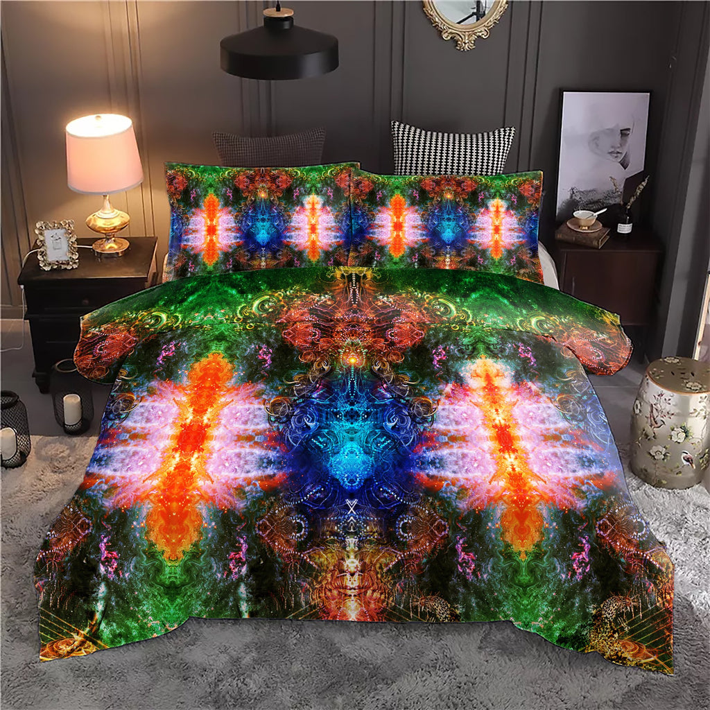 Trance Vibe Colored Bedding Set