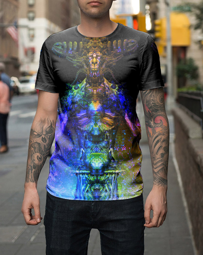 Colorful Lucifer Men's T-Shirt
