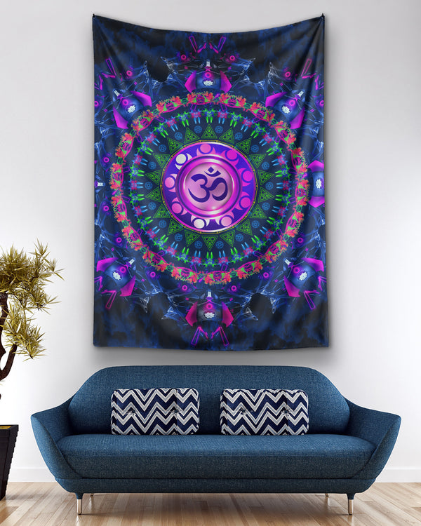 Cosmosis OM Tapestry