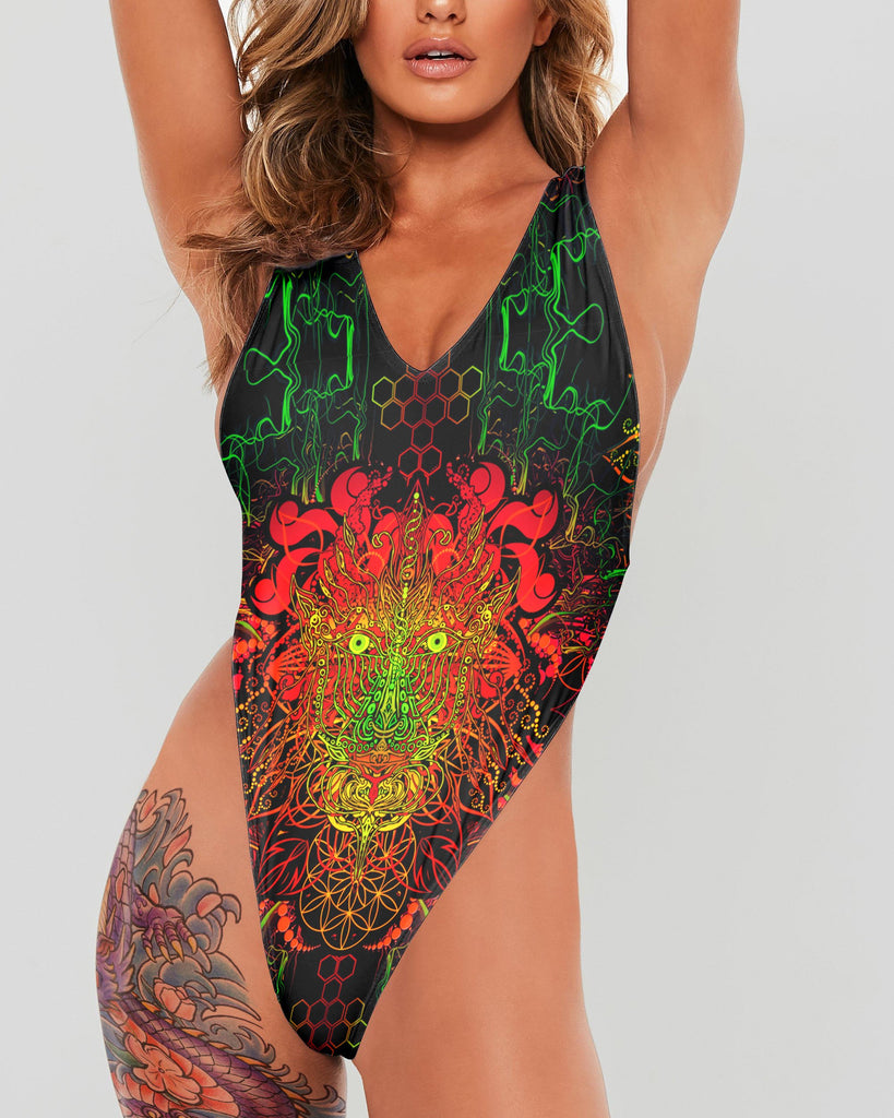 DMT DragonA Full Body Swimsuit - ShantiBanti