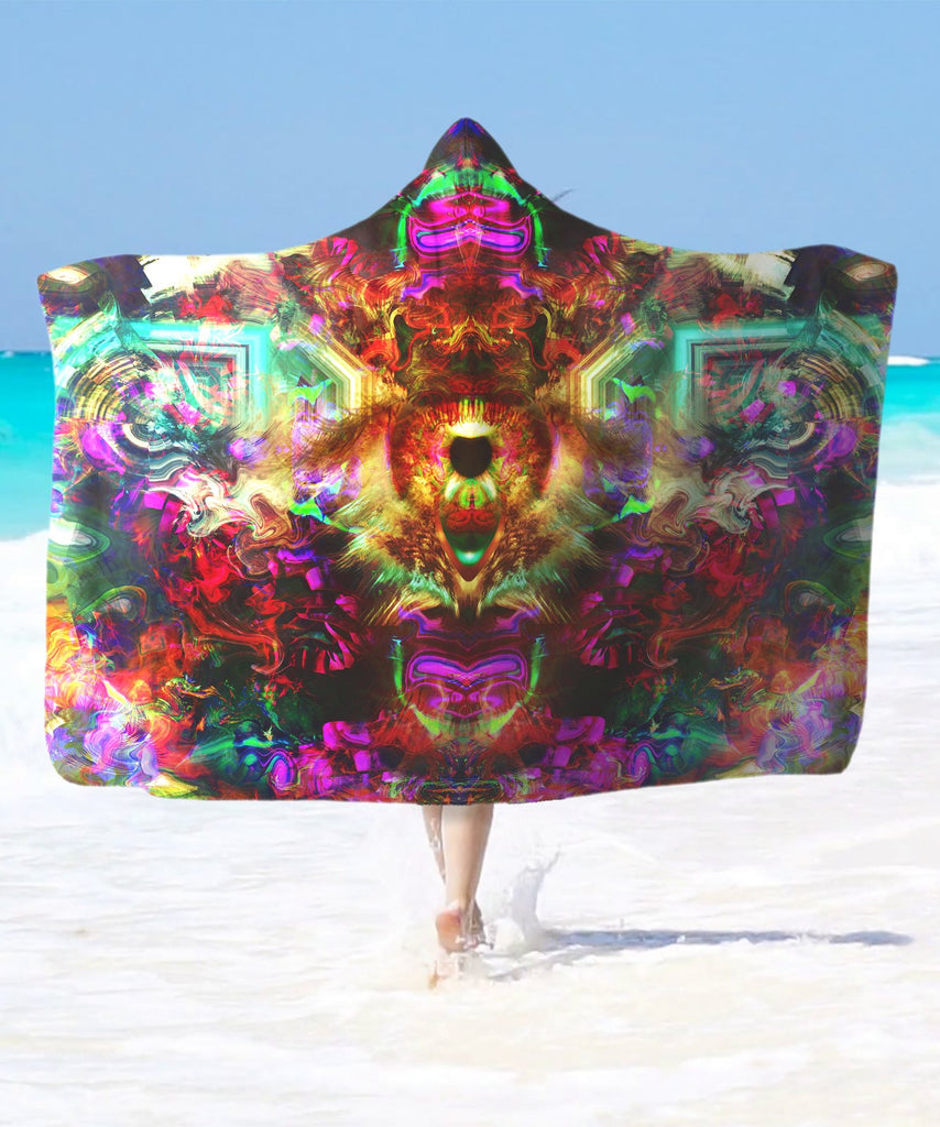 DMT Eye Hooded Blanket - ShantiBanti