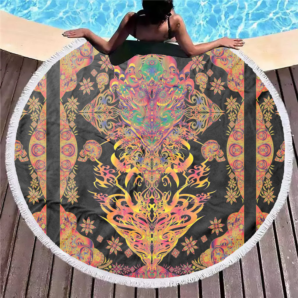 Dimension Dragon Beach Blanket - ShantiBanti