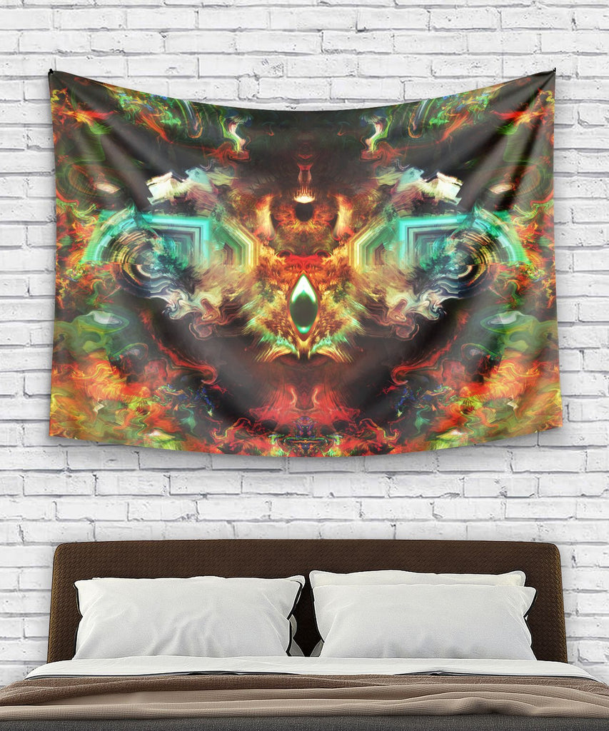 Eye Of God Tapestry - ShantiBanti