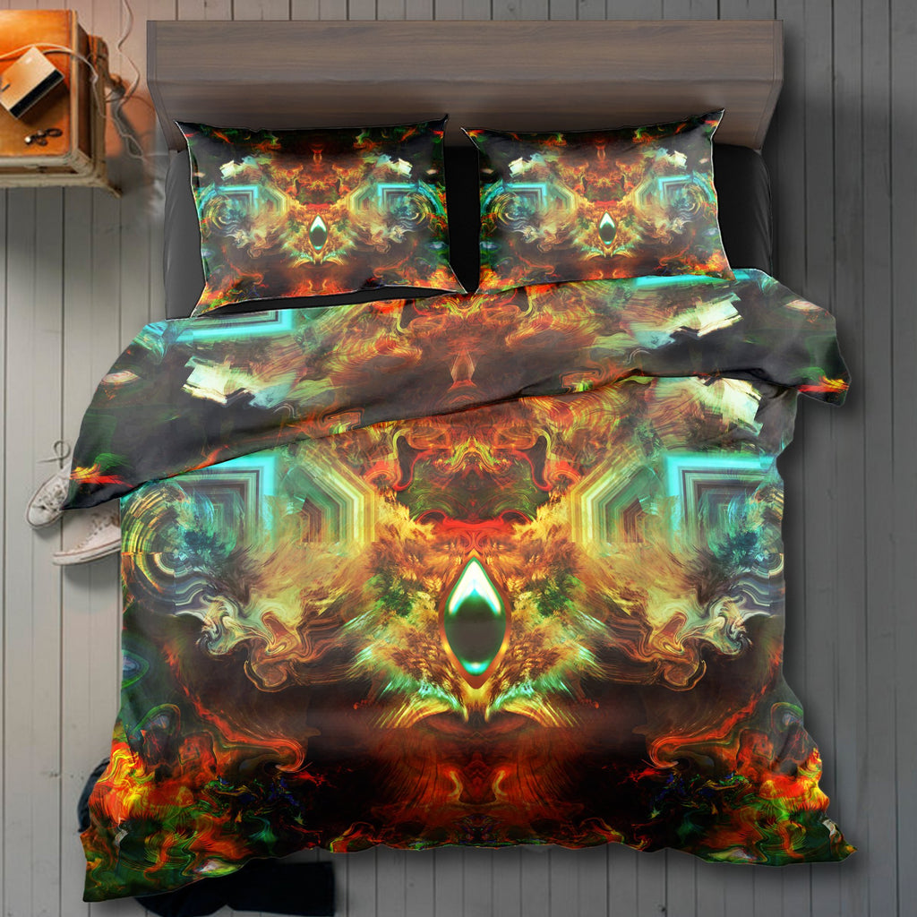 Fire Eye Ocean Bedding Set - ShantiBanti
