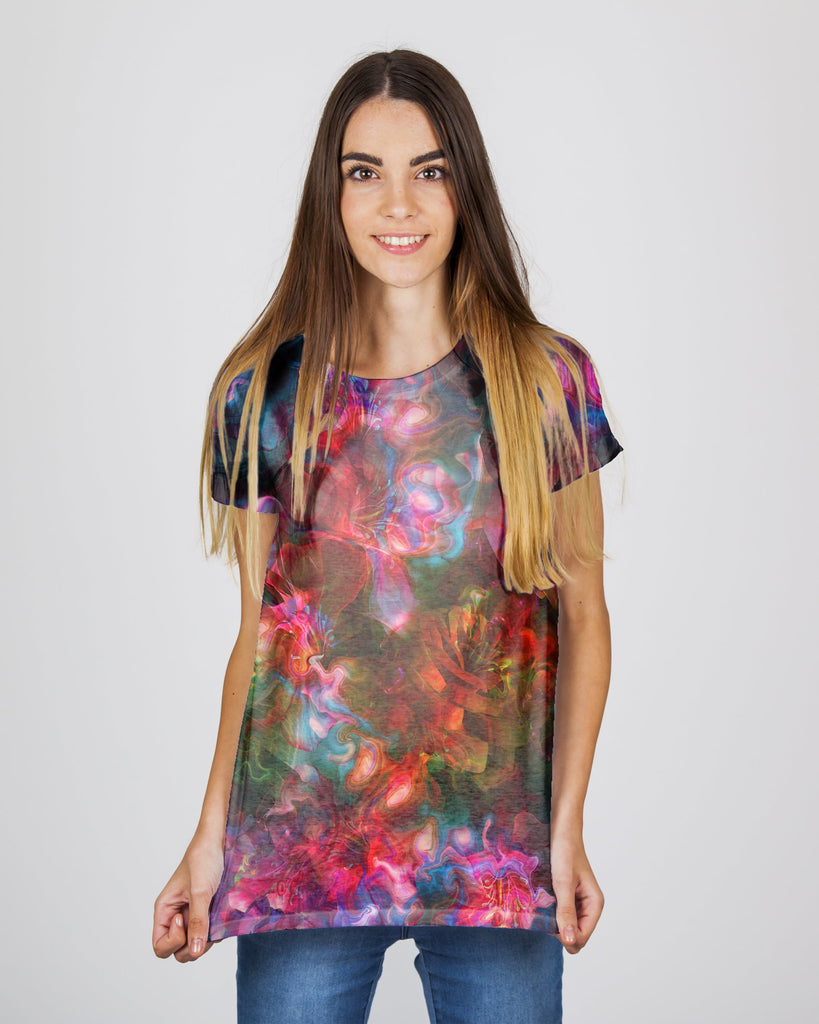 Flower Melt Women's T-Shirt
