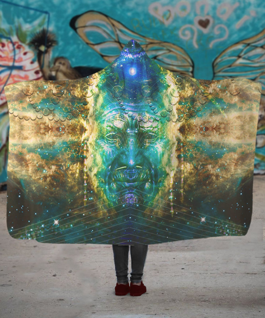 Galaxy Shaman Hooded Blanket - ShantiBanti