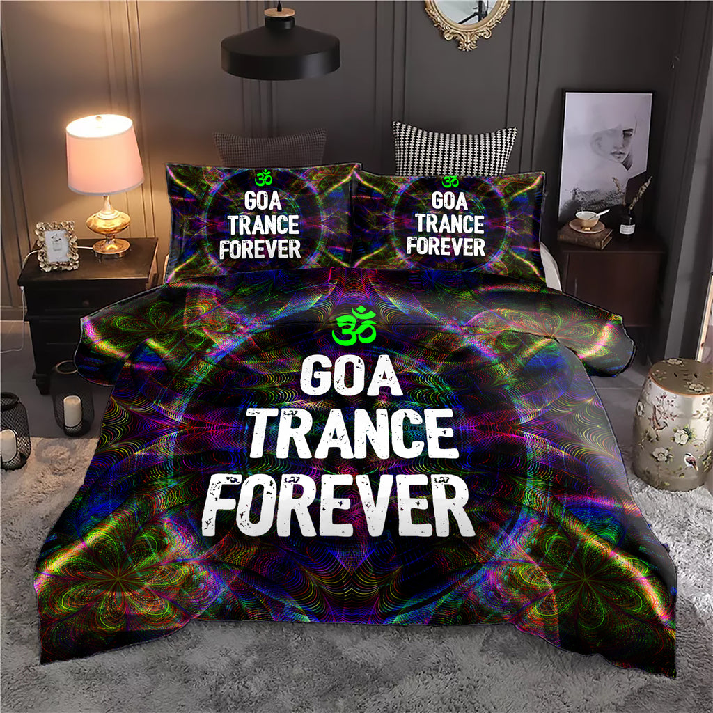 Goa Trance Forever Bedding Set