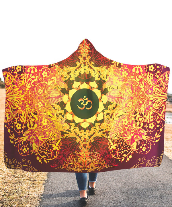 Goa Of Power Hooded Blanket - ShantiBanti
