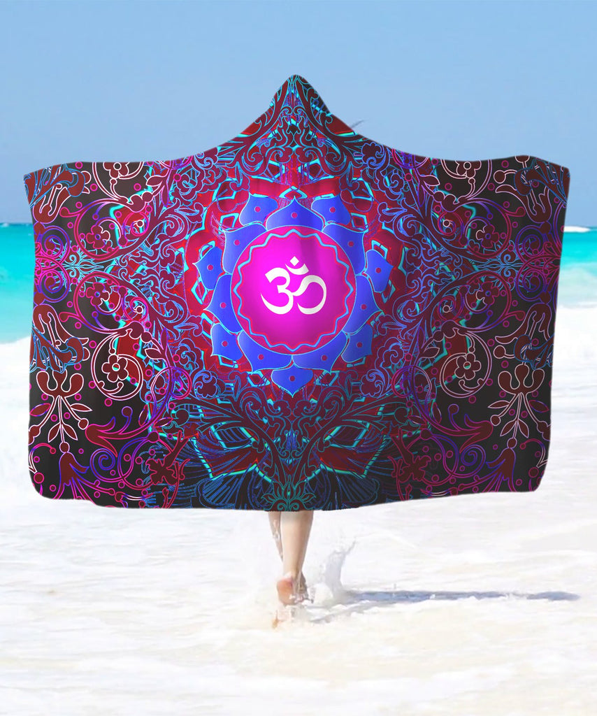 Goa Vibes Hooded Blanket - ShantiBanti