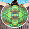 Acid Melt Green Beach Blanket - ShantiBanti