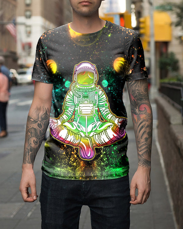 Astronaut Green Men's T-shirt