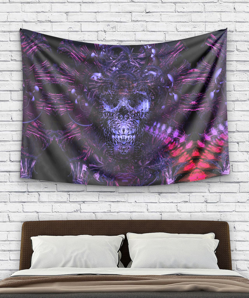 Hell's Garage Tapestry