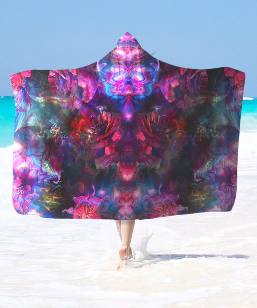 Illusion Hooded Blanket