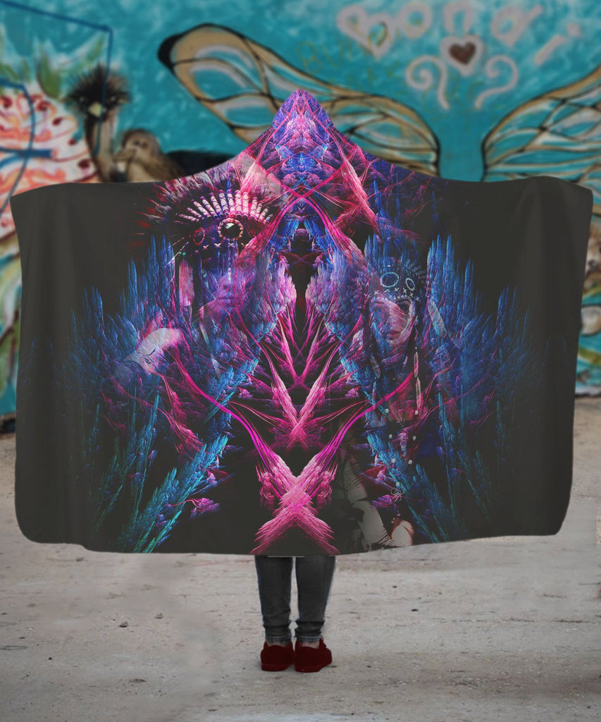 King Synergy Hooded Blanket