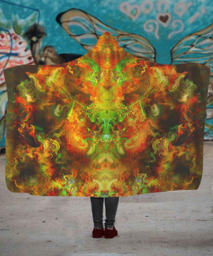 Love LSD Hooded Blanket