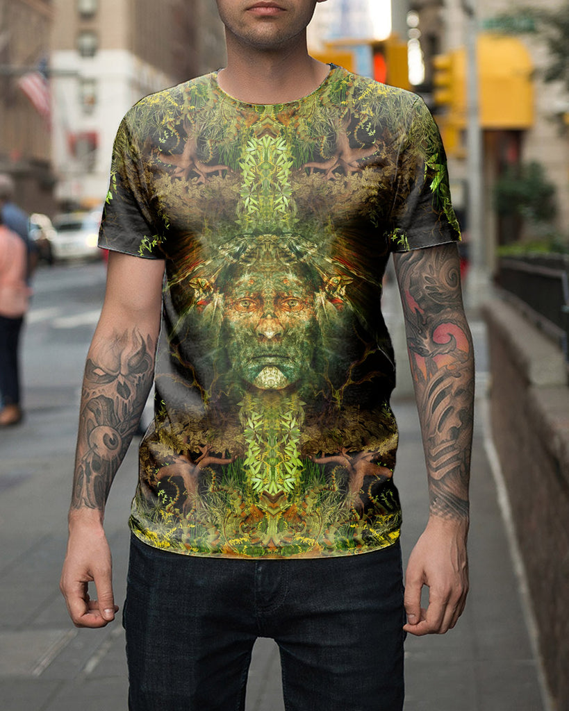 Magic Born From The Jungle Men's T-Shirt