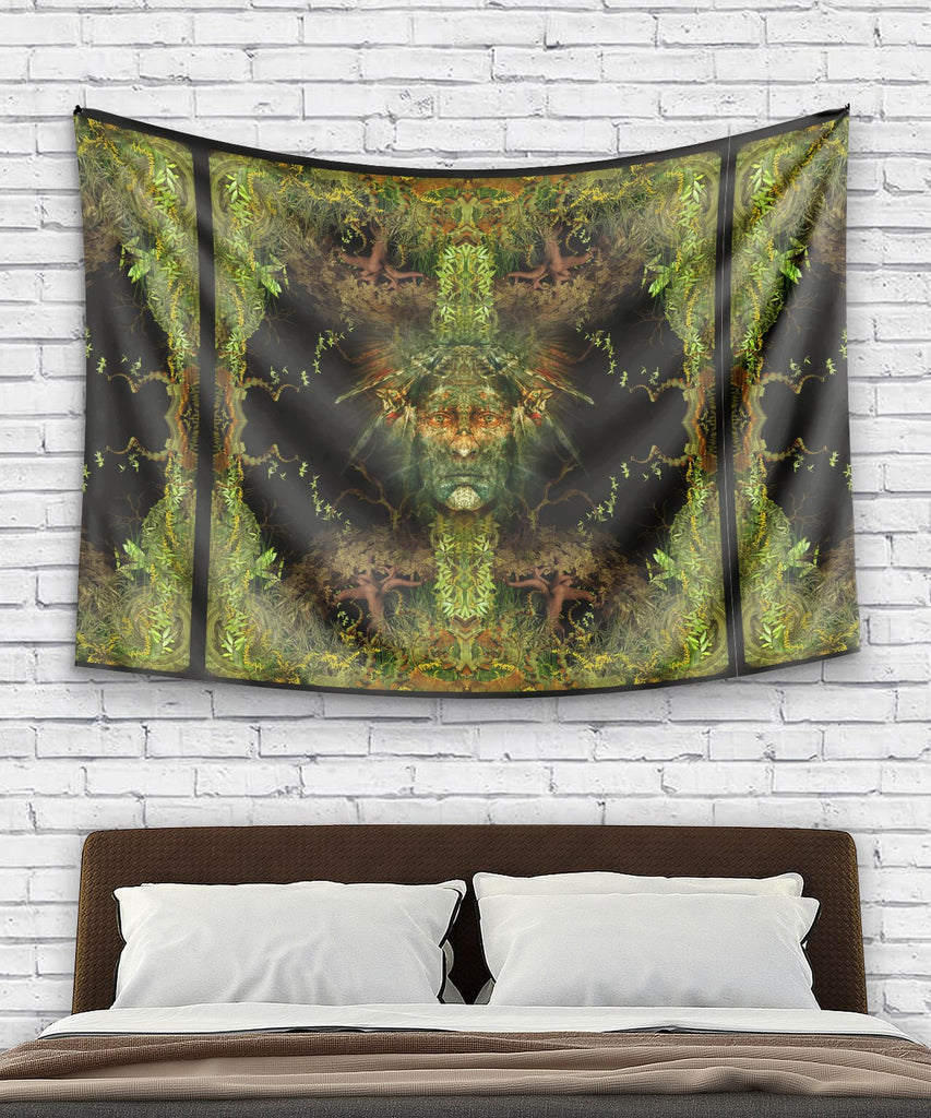 Magic Born From The Jungle Tapestry