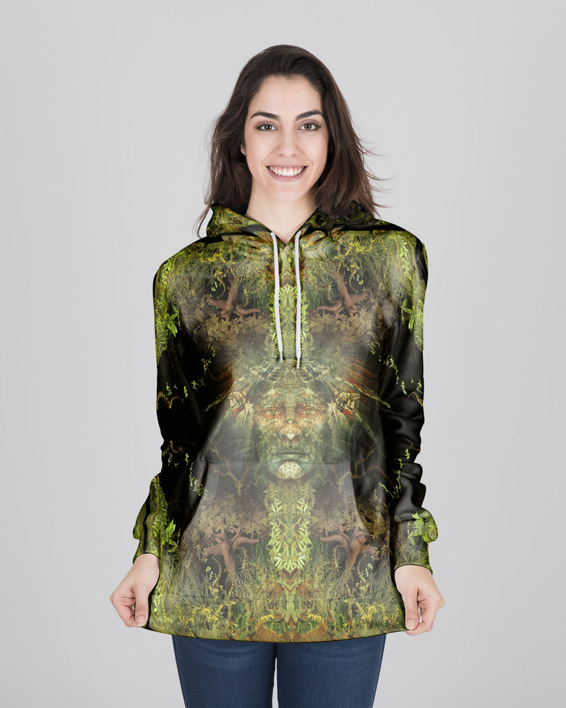 Magic Born From The Jungle Women's Hoodie
