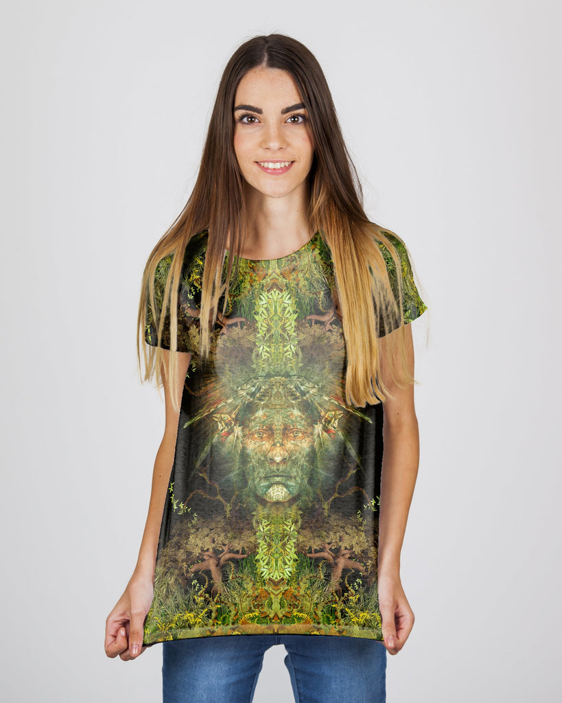 Magic Born From The Jungle Women's T-Shirt