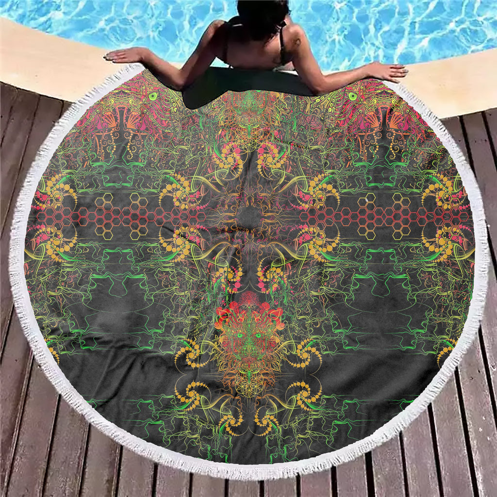 Magicl Dragon Beach Blanket