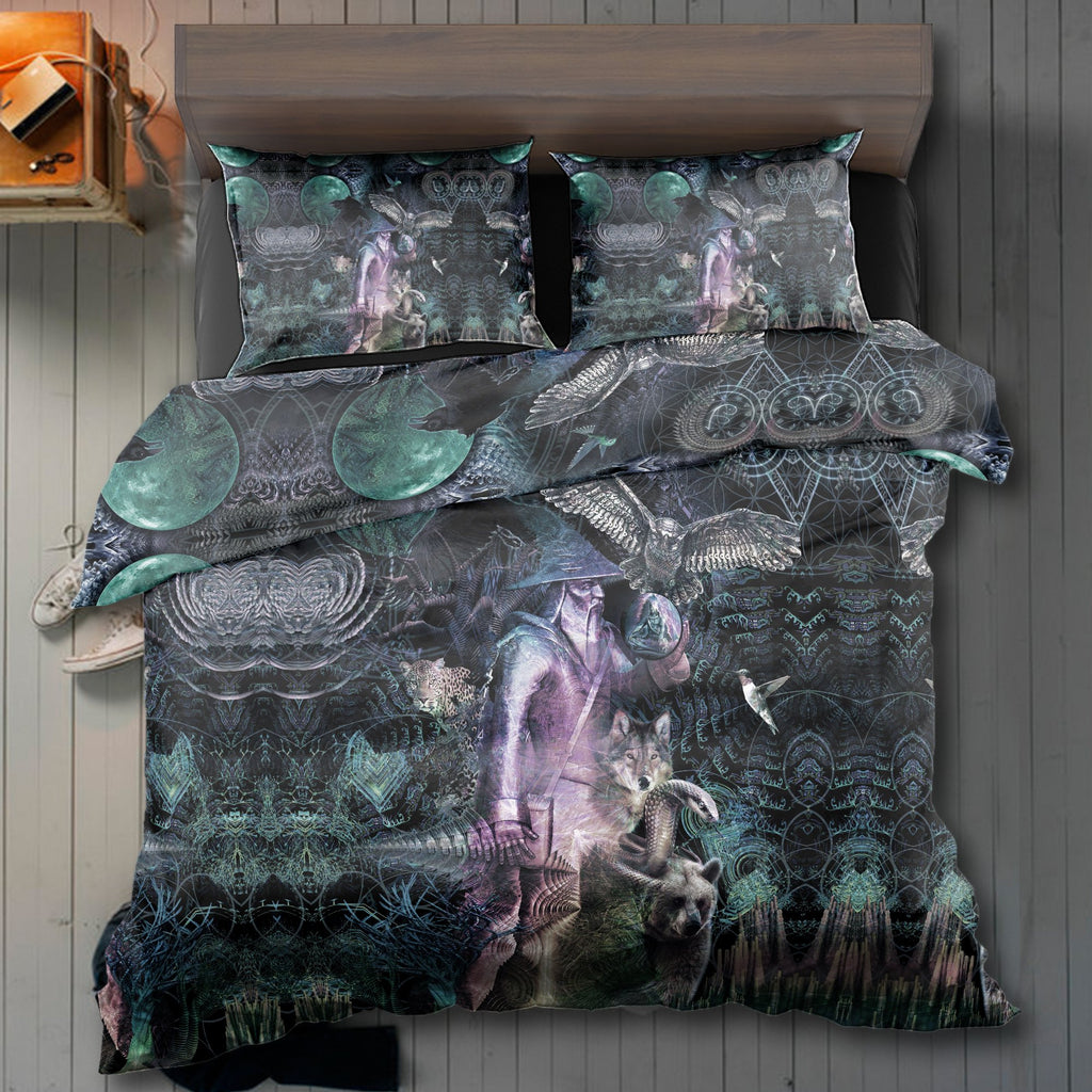 Magicl LSD Wizard B&W Bedding Set