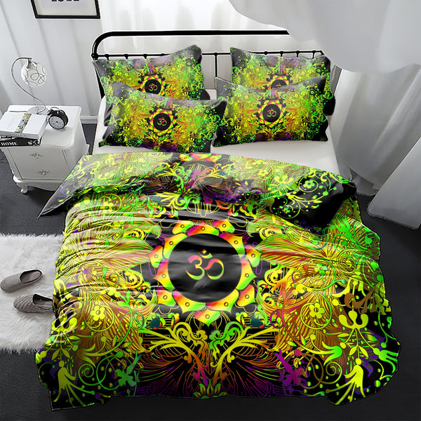 Mandala Life Om Bedding Set